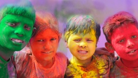 The Color Festival (Holi)