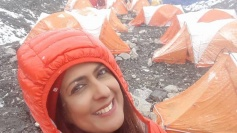 Former Miss India finalist among five climbers evacuated from Mt Everest
